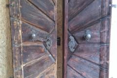 Denkmalgeschützte Eingangstür